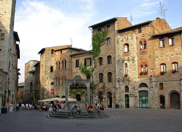 Η μεσαιωνική πόλη με τους όμορφους πύργους